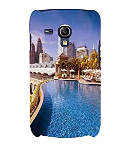 printtech Building Waterpool Back Case Cover for Samsung Galaxy S3 Mini::Samsung Galaxy S3 Mini i8190