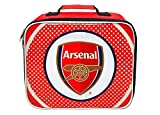 Arsenal FC Bullseye Lunch School Bag, 24 cm, Red