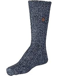 BIRKENSTOCK Sydney Socks Unisex - Erwachsene Socken, Blau, Größe 35-38