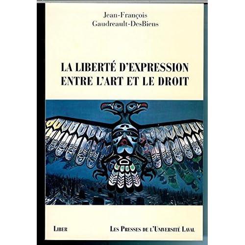 Liberte d Expression Entre l Art et le Droit