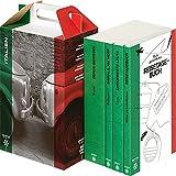 SZ Literaturkoffer Italien | Bücher Set | Literatur-Sammlung mit Svevo, Balzano und Fava | 4 Taschenbücher - Italo Svevo