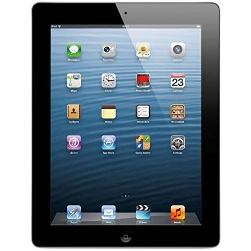 Price comparison product image Apple iPad 4 32GB Wi-Fi - Black (Certified Refurbished)