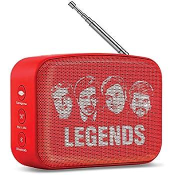 Saregama Carvaan Mini Kannada SCM02 Bluetooth Speaker (Sunset Red)