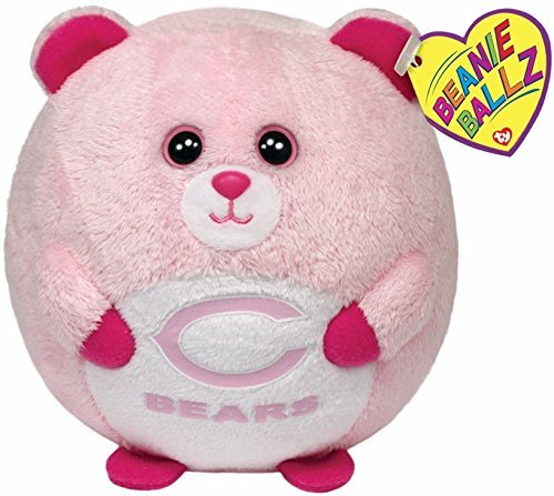 Chicago Bears - pink by TY Beanie Ballz