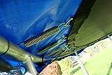 Outdoor Gartentrampolin Trampolin XL – 436cm komplett inkl. Sicherheitsnetz und Leiter TÜV geprüft von AS-S - 6