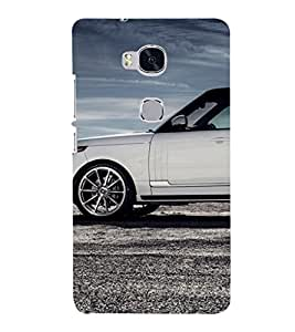 EPICCASE flashy range rover Mobile Back Case Cover For Huawei Honor 5X (Designer Case)
