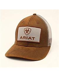 san francisco 5fbe7 cea4e Ariat Men s Logo Patch Oilskin Cap