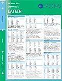 PONS Grammatik auf einen Blick Latein: kompakte Übersicht, Grammatikregeln nachschlagen