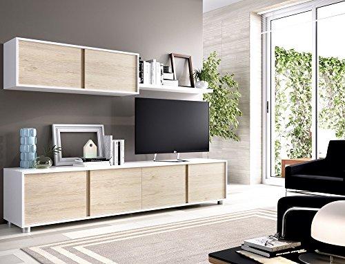 Composición de salón moderna y barata de 200 cm...