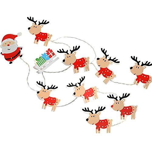 WeRChristmas-Figura decorativa LED Papá Noel