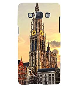 VINTAGE CLOCK TOWER MONUMENT IN EVENING 3D Hard Polycarbonate Designer Back Case Cover for Samsung Galaxy A5 (2015 Edition) :: Samsung Galaxy A5 A500F (2015)