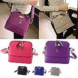 DAY.LIN Deer Metall Ornamente Shell-Paket Neue Frauen Messenger Bags Vintage Kleine Shell Leder Handtasche Casual Bag