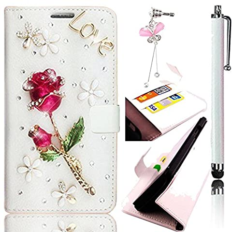 Sunroyal® Bling Strass Etui Housse Coque pour