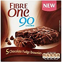 Fibra De Un Chocolate Fudge Brownie 120G - Paquete de 6