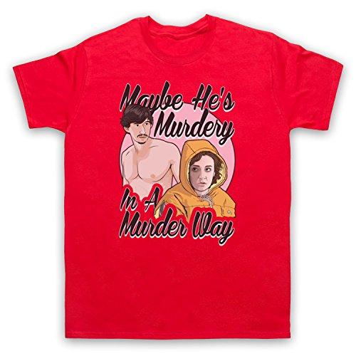 Inspiriert durch Girls Murder Way Unofficial Herren T-Shirt Rot