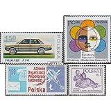 Pologne 2562,2565,2576,2577 (complète.Edition.) 1978 voiture, Sports, oss, Paix (Timbres pour les collectionneurs) circulation routière