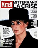 Paris Match n° 2237 du 9 Avril 1992 - Lady Diana le chagrin 8 p - Francis Bouygues 3 p - Madonna & Sean Penn 5 p - Luciano Pavarotti 4 p - Julia Roberts 2 p - Florence Arthaud 4 p - Brice Lalonde 2 p - Mitterrand le roi nu 12 p