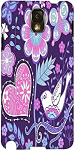 Snoogg Seamless Texture With Flowers Designer Protective Back Case Cover For ...