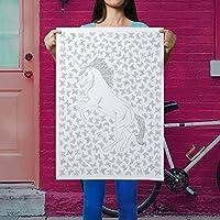 manifesto unicorno colorazione - arredamento impressionante fai da te - Dormitorio arte della parete fai da te - grande colorare unicorn - bellissimo poster unicorno - grande poster unicorn - regalo insolito per amante