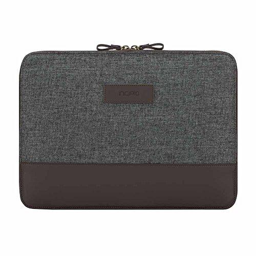 Incipio [Esquire Series] Sleeve Microsoft Surface Pro 6 / Pro (2017) & Pro 4 / Laptop / Laptop 2- Microsoft zertifizierte Schutzhülle [Type Cover Kompatibel I Fächer I Baumwolle] - burgundy