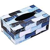 Decoración para el hogar Decoración de cuero Rectángulo Tissue Box Holder