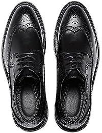 fb530234c03d Jiuyue-shoes, 2018 Scarpe Brogue da uomo Business PU Leather Upper Lace Up  Wingtip