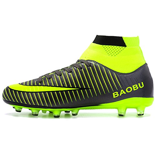 BIGU Chaussures de Football Homme Adolescents AG...