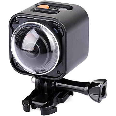 (La más reciente) Ultra HD 4K 360 Panorama Acción Cámara Apoyo Muñeca Remoto Controlador VR Cámara 2.4G sin hilos con Todo-dirección 1080P Mini 360 Grado Deporte Cámaras Submarino 10M sin Impermeable caso DEPORTES CÁMARA-T360