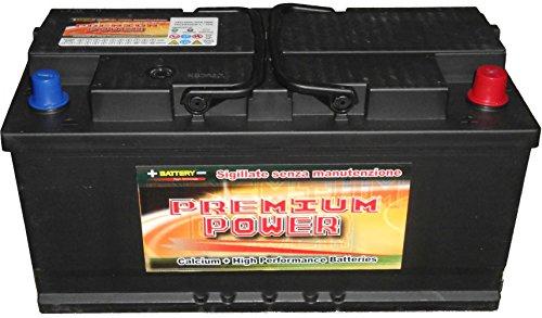 Batterie Auto 110 Ah Spunto 850A +30% Spunto