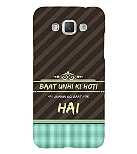 ifasho Designer Back Case Cover for Samsung Galaxy Grand Max G720 (Visualize Kuchh Baat Hai )