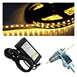120 LED/m 5mm schmal LED Stripe 2700K warmweiß 2835 SMD 5-20m (5m)