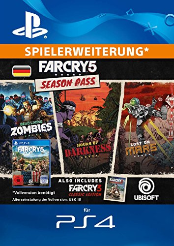 Far Cry 5 - Season Pass | PS4 Download Code - deutsches Konto
