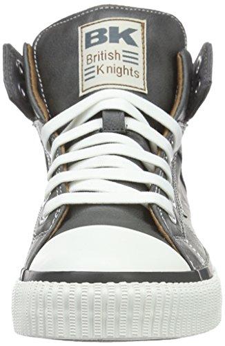 British KnightsROCO - Scarpe da Ginnastica Basse Uomo Grigio (Grau (Dk Grey/Cognac 08))