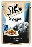 Sheba Beutel Delikatesse in Gelee Thunfisch (MSC), 85 g