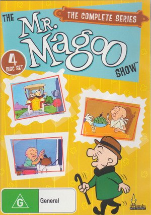 The Mr. Magoo Show: The Complete series DVD