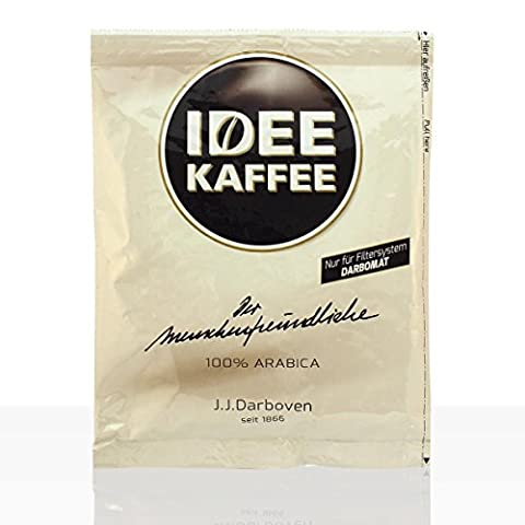 Darboven Idee Kaffee Classic (ganze Kanne) 50 x 60g Pouch Filterbeutel