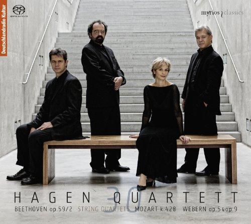 Streichquartette Op.59/2 & KV 428