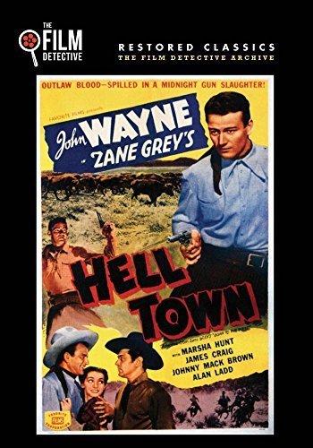 Preisvergleich Produktbild Hell Town (The Film Detective Restored Version) by John Wayne