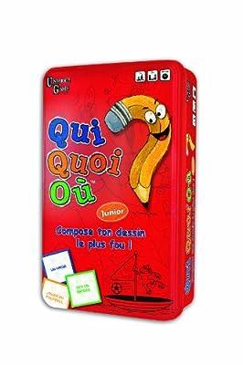 University Games - 01835 - Jeu De Voyage - Qui Quoi Où