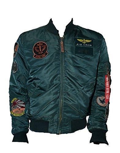 Alpha Industries MA-1 Pilot Male Jacket , Größe:XXL;Farbe:grün