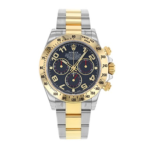rolex-daytona-116523-bla-18k-yellow-gold-steel-automatic-mens-watch
