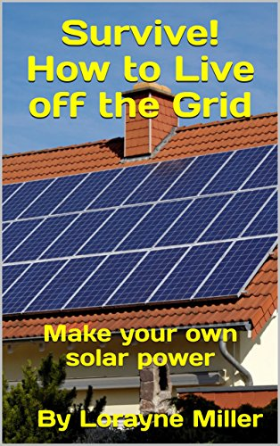 Survive! How to Live off the Grid : Make your own solar power (English Edition)