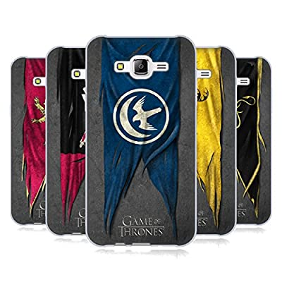 Official HBO Game Of Thrones Sigil Flags Soft Gel Case for Samsung Phones 3
