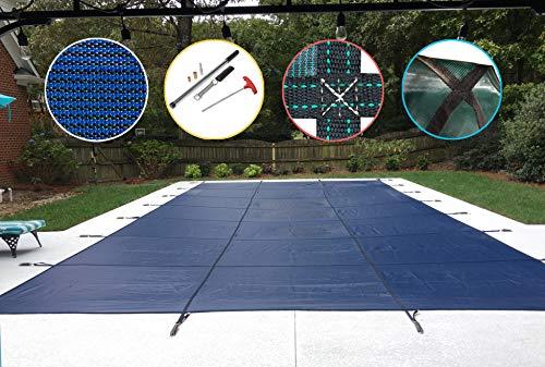 Pool Sicherheit Bezug für eine 12x 24Pool, blau Mesh -