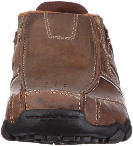Skechers Diameter, Chaussures de ville homme Marron (Cdb)