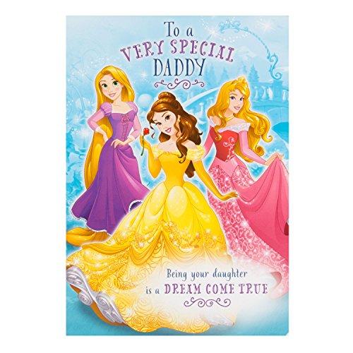 karte für Cousine, Disney Prinzessin,
