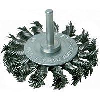 Silverline 456933 - Cepillo circular de acero trenzado (75 mm)