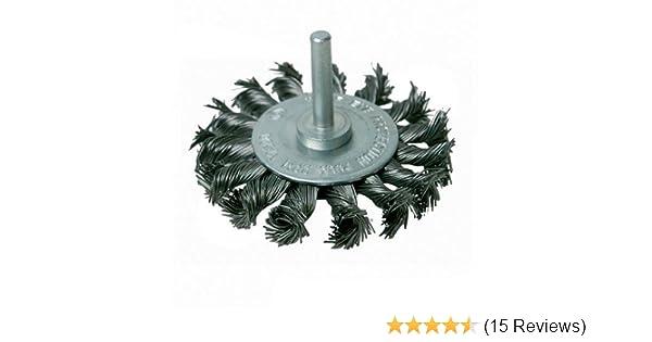 75 mm Silverline 456933 Twist-Knot Wheel