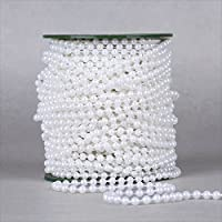 Dealglad® 6MM perle artificiali ghirlanda con perline