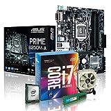 PC Aufrüstkit Intel, i7-7700K 4x4.2 GHz, 16GB DDR4, Intel HD Grafik 630-1GB, Mainboard Bundle, Tuning Kit, fertig montiert, Spiele Office zusammengestellt in Deutschland Desktop Rechner